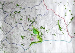 Karte Biotopverbund